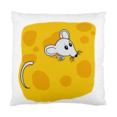 Rat Mouse Cheese Animal Mammal Standard Cushion Case (two Sides)