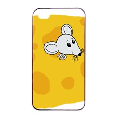 Rat Mouse Cheese Animal Mammal Apple Iphone 4/4s Seamless Case (black)
