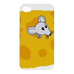 Rat Mouse Cheese Animal Mammal Apple Iphone 4/4s Hardshell Case