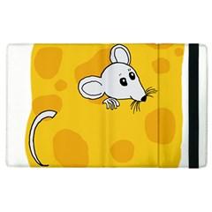 Rat Mouse Cheese Animal Mammal Apple Ipad 3/4 Flip Case