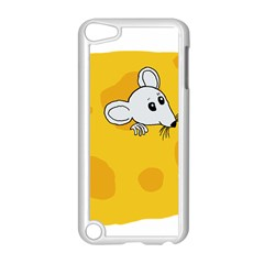 Rat Mouse Cheese Animal Mammal Apple Ipod Touch 5 Case (white)