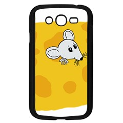 Rat Mouse Cheese Animal Mammal Samsung Galaxy Grand Duos I9082 Case (black)