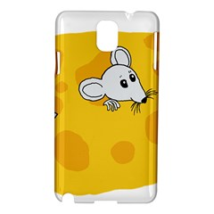 Rat Mouse Cheese Animal Mammal Samsung Galaxy Note 3 N9005 Hardshell Case