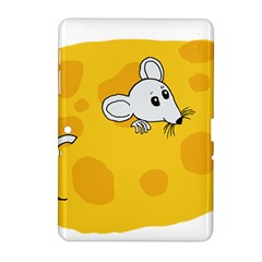 Rat Mouse Cheese Animal Mammal Samsung Galaxy Tab 2 (10 1 ) P5100 Hardshell Case
