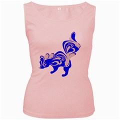 Skunk Animal Still From Women s Pink Tank Top