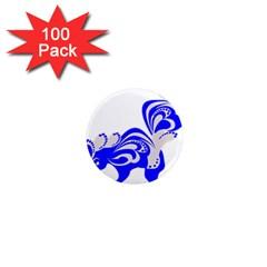 Skunk Animal Still From 1  Mini Magnets (100 Pack)