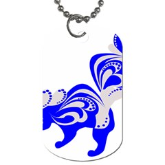 Skunk Animal Still From Dog Tag (one Side)