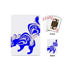 Skunk Animal Still From Playing Cards (mini)