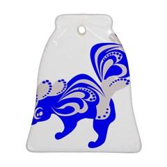Skunk Animal Still From Ornament (bell)