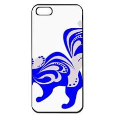 Skunk Animal Still From Apple Iphone 5 Seamless Case (black)