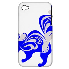 Skunk Animal Still From Apple Iphone 4/4s Hardshell Case (pc+silicone)