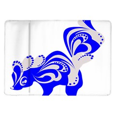 Skunk Animal Still From Samsung Galaxy Tab 10 1  P7500 Flip Case