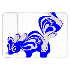 Skunk Animal Still From Samsung Galaxy Tab 8 9  P7300 Flip Case