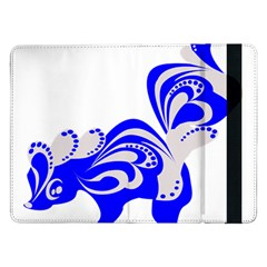 Skunk Animal Still From Samsung Galaxy Tab Pro 12 2  Flip Case