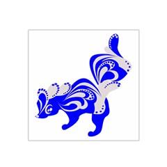 Skunk Animal Still From Satin Bandana Scarf