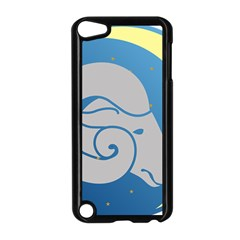 Ram Zodiac Sign Zodiac Moon Star Apple Ipod Touch 5 Case (black)