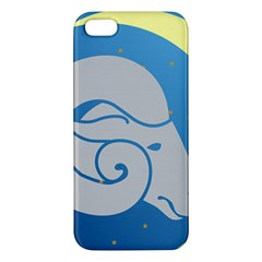 Ram Zodiac Sign Zodiac Moon Star Iphone 5s/ Se Premium Hardshell Case