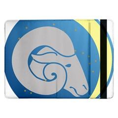 Ram Zodiac Sign Zodiac Moon Star Samsung Galaxy Tab Pro 12 2  Flip Case