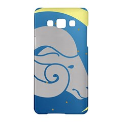 Ram Zodiac Sign Zodiac Moon Star Samsung Galaxy A5 Hardshell Case