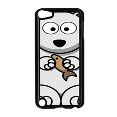 Bear Polar Bear Arctic Fish Mammal Apple Ipod Touch 5 Case (black)