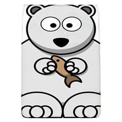 Bear Polar Bear Arctic Fish Mammal Flap Covers (l)