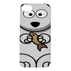 Bear Polar Bear Arctic Fish Mammal Apple Iphone 5s/ Se Hardshell Case