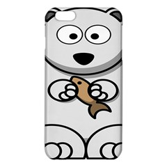 Bear Polar Bear Arctic Fish Mammal Iphone 6 Plus/6s Plus Tpu Case