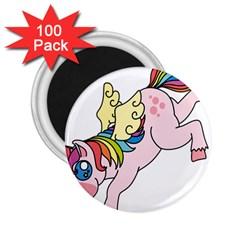 Unicorn Arociris Raimbow Magic 2 25  Magnets (100 Pack)