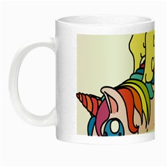 Unicorn Arociris Raimbow Magic Night Luminous Mugs