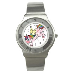 Unicorn Arociris Raimbow Magic Stainless Steel Watch