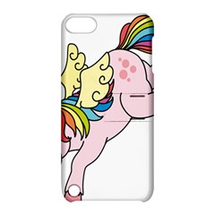 Unicorn Arociris Raimbow Magic Apple Ipod Touch 5 Hardshell Case With Stand