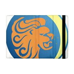 Lion Zodiac Sign Zodiac Moon Star Apple Ipad Mini Flip Case