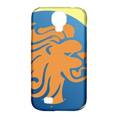 Lion Zodiac Sign Zodiac Moon Star Samsung Galaxy S4 Classic Hardshell Case (pc+silicone)