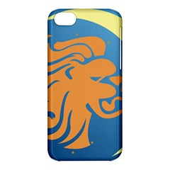 Lion Zodiac Sign Zodiac Moon Star Apple Iphone 5c Hardshell Case