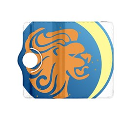 Lion Zodiac Sign Zodiac Moon Star Kindle Fire Hdx 8 9  Flip 360 Case