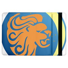 Lion Zodiac Sign Zodiac Moon Star Ipad Air Flip