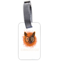 Cat Smart Design Pet Cute Animal Luggage Tags (one Side)