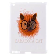 Cat Smart Design Pet Cute Animal Apple Ipad 3/4 Hardshell Case (compatible With Smart Cover)