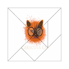 Cat Smart Design Pet Cute Animal Acrylic Tangram Puzzle (6  X 6 )