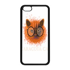 Cat Smart Design Pet Cute Animal Apple Iphone 5c Seamless Case (black)