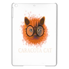 Cat Smart Design Pet Cute Animal Ipad Air Hardshell Cases
