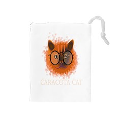 Cat Smart Design Pet Cute Animal Drawstring Pouches (medium)