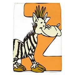Zebra Animal Alphabet Z Wild Flap Covers (l)