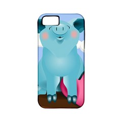 Pig Animal Love Apple Iphone 5 Classic Hardshell Case (pc+silicone)