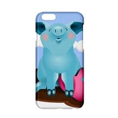 Pig Animal Love Apple Iphone 6/6s Hardshell Case