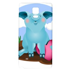 Pig Animal Love Galaxy Note 4 Back Case