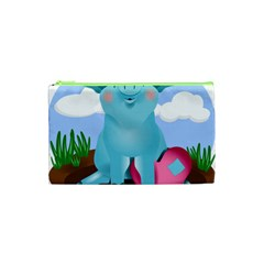 Pig Animal Love Cosmetic Bag (xs)