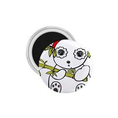 Panda China Chinese Furry 1 75  Magnets