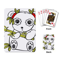Panda China Chinese Furry Playing Card