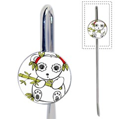 Panda China Chinese Furry Book Mark